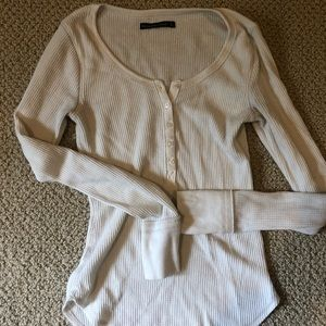 long sleeve white shirt from abercrombie